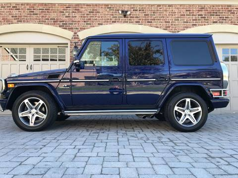 2009 Mercedes-Benz G-Class for sale at AVAZI AUTO GROUP LLC in Gaithersburg MD