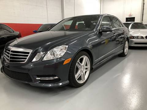 2013 Mercedes-Benz E-Class for sale at AVAZI AUTO GROUP LLC in Gaithersburg MD