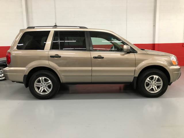 Exceptional 2005 Honda Pilot 4dr EX L 4WD SUV W/Leather And Navigation System