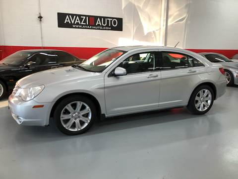 2010 Chrysler Sebring for sale at AVAZI AUTO GROUP LLC in Gaithersburg MD