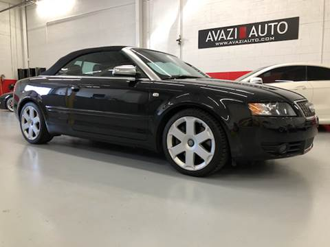 2004 Audi S4 for sale at AVAZI AUTO GROUP LLC in Gaithersburg MD