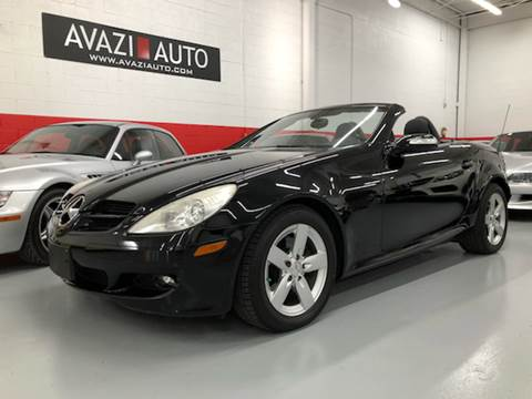 2006 Mercedes-Benz SLK for sale at AVAZI AUTO GROUP LLC in Gaithersburg MD