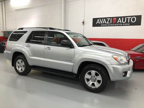 2007 Toyota 4Runner for sale at AVAZI AUTO GROUP LLC in Gaithersburg MD
