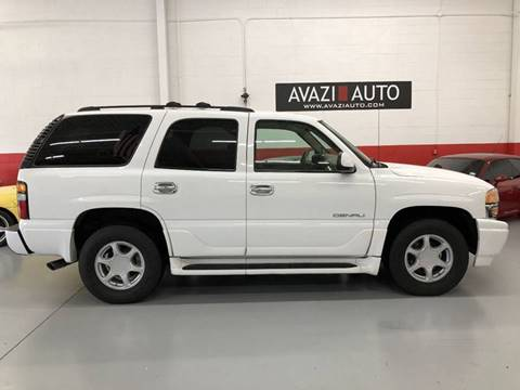 2006 GMC Yukon for sale at AVAZI AUTO GROUP LLC in Gaithersburg MD