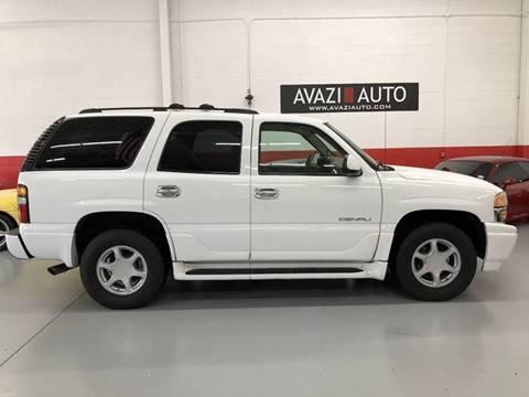 2006 GMC Yukon for sale at AVAZI AUTO GROUP LLC in Gaithersburg MD