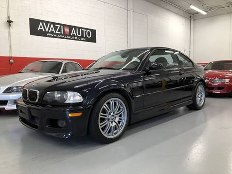2002 BMW M3 for sale at AVAZI AUTO GROUP LLC in Gaithersburg MD