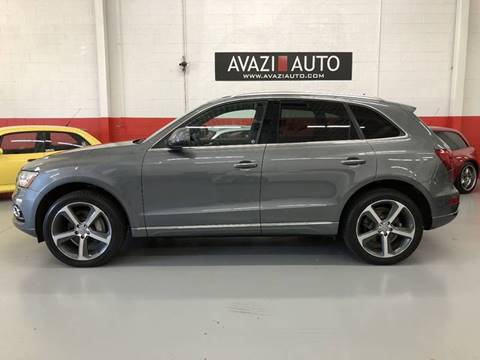 2015 Audi Q5 for sale at AVAZI AUTO GROUP LLC in Gaithersburg MD