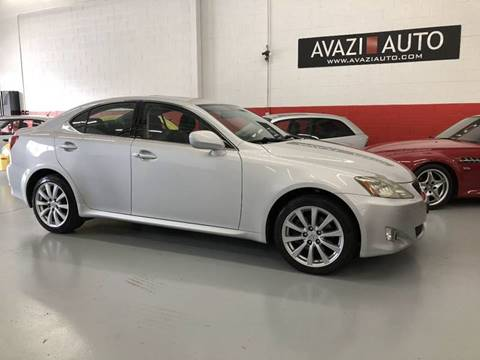 2006 Lexus IS 250 for sale at AVAZI AUTO GROUP LLC in Gaithersburg MD