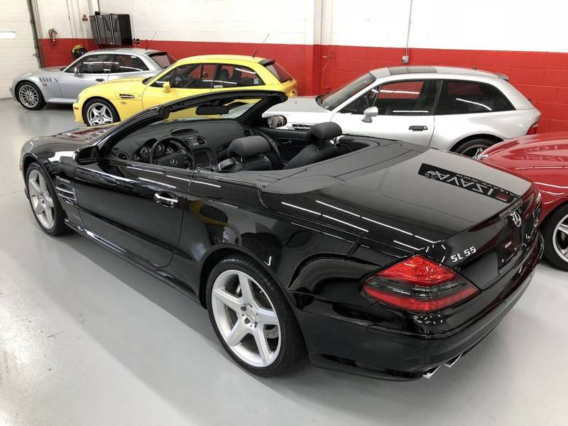2007 Mercedes Benz Sl Class Sl 55 Amg 2dr Convertible In