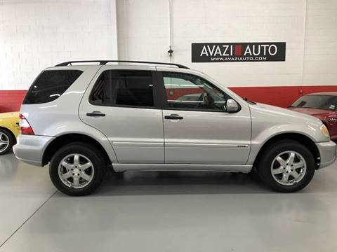 2004 Mercedes-Benz M-Class for sale at AVAZI AUTO GROUP LLC in Gaithersburg MD