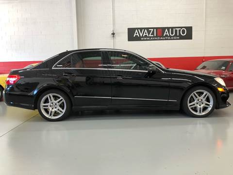 2011 Mercedes-Benz E-Class for sale at AVAZI AUTO GROUP LLC in Gaithersburg MD