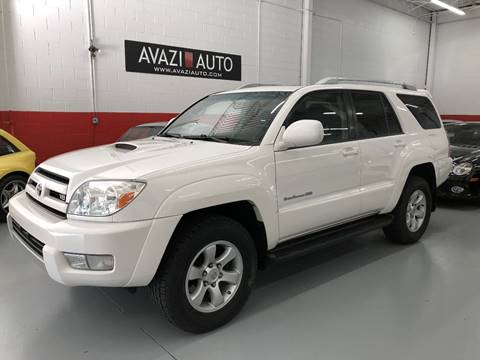 2004 Toyota 4Runner for sale at AVAZI AUTO GROUP LLC in Gaithersburg MD