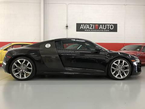 2010 Audi R8 for sale at AVAZI AUTO GROUP LLC in Gaithersburg MD