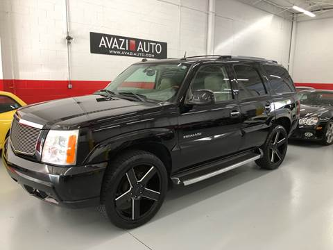 2004 Cadillac Escalade for sale at AVAZI AUTO GROUP LLC in Gaithersburg MD