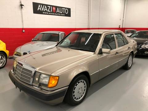1990 Mercedes-Benz 300-Class for sale at AVAZI AUTO GROUP LLC in Gaithersburg MD