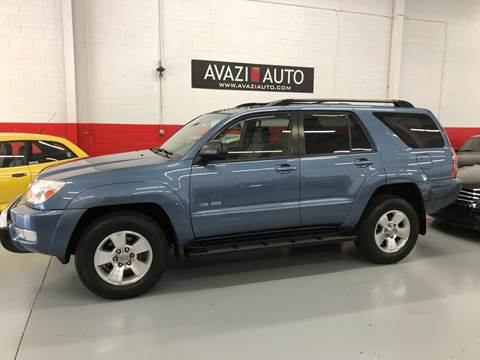 2005 Toyota 4Runner for sale at AVAZI AUTO GROUP LLC in Gaithersburg MD