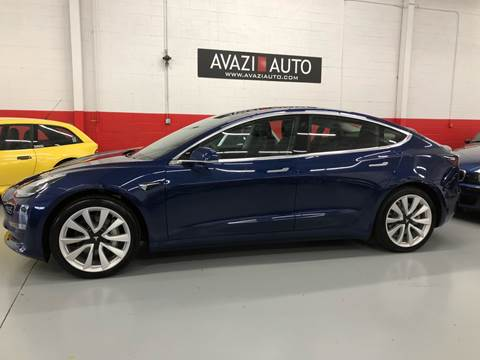 2018 Tesla Model 3 for sale at AVAZI AUTO GROUP LLC in Gaithersburg MD