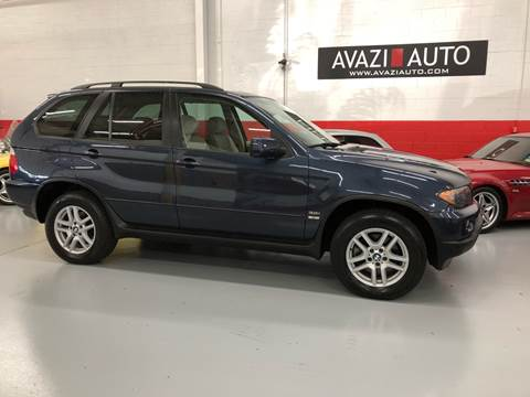 2006 BMW X5 for sale at AVAZI AUTO GROUP LLC in Gaithersburg MD