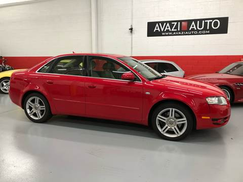 2007 Audi A4 for sale at AVAZI AUTO GROUP LLC in Gaithersburg MD