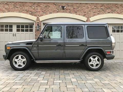 2005 Mercedes-Benz G-Class for sale at AVAZI AUTO GROUP LLC in Gaithersburg MD