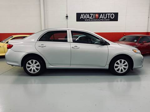 2010 Toyota Corolla for sale at AVAZI AUTO GROUP LLC in Gaithersburg MD