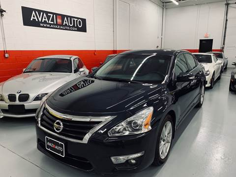 2015 Nissan Altima for sale at AVAZI AUTO GROUP LLC in Gaithersburg MD