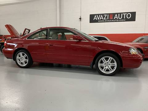 2003 Acura CL for sale at AVAZI AUTO GROUP LLC in Gaithersburg MD