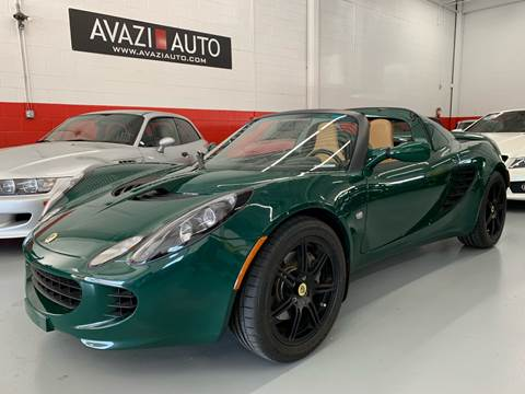 2008 Lotus Elise for sale at AVAZI AUTO GROUP LLC in Gaithersburg MD