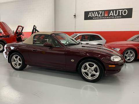 2000 Mazda MX-5 Miata for sale at AVAZI AUTO GROUP LLC in Gaithersburg MD