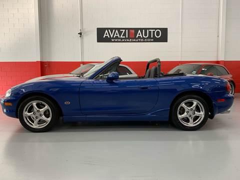 1999 Mazda MX-5 Miata for sale at AVAZI AUTO GROUP LLC in Gaithersburg MD