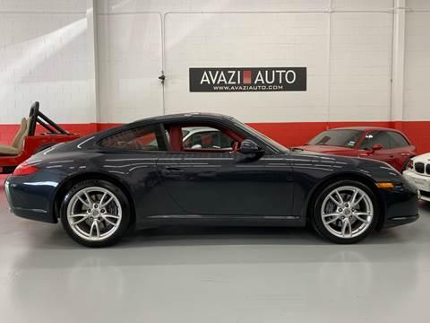 2009 Porsche 911 for sale at AVAZI AUTO GROUP LLC in Gaithersburg MD