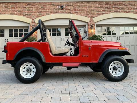 1985 Jeep CJ-7 for sale in Gaithersburg, MD