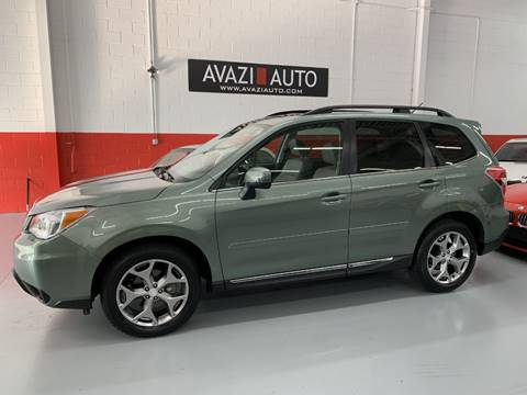 2015 Subaru Forester for sale at AVAZI AUTO GROUP LLC in Gaithersburg MD