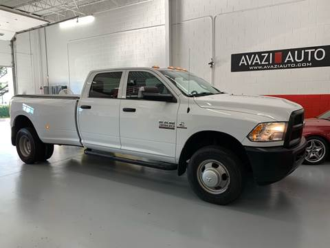 2017 RAM Ram Pickup 3500 for sale at AVAZI AUTO GROUP LLC in Gaithersburg MD