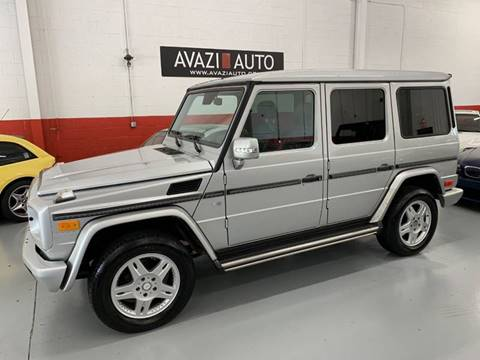 2003 Mercedes-Benz G-Class for sale at AVAZI AUTO GROUP LLC in Gaithersburg MD