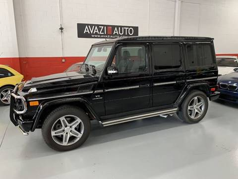 2011 Mercedes-Benz G-Class for sale at AVAZI AUTO GROUP LLC in Gaithersburg MD
