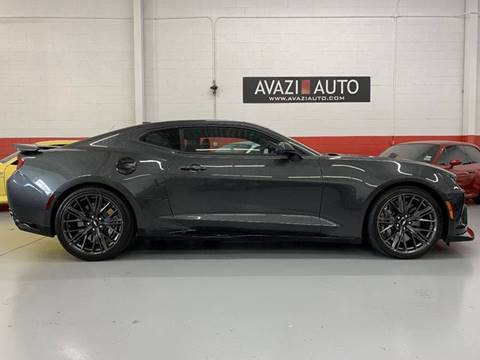2017 Chevrolet Camaro for sale at AVAZI AUTO GROUP LLC in Gaithersburg MD