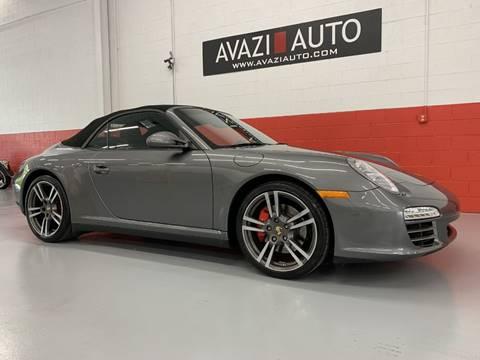 2011 Porsche 911 for sale at AVAZI AUTO GROUP LLC in Gaithersburg MD