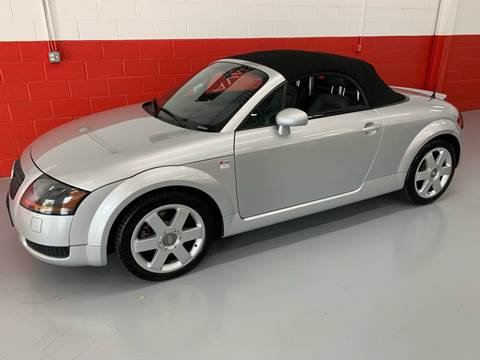 2002 Audi TT for sale at AVAZI AUTO GROUP LLC in Gaithersburg MD