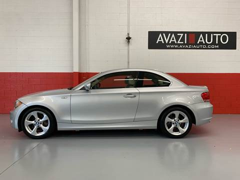2012 BMW 1 Series for sale at AVAZI AUTO GROUP LLC in Gaithersburg MD