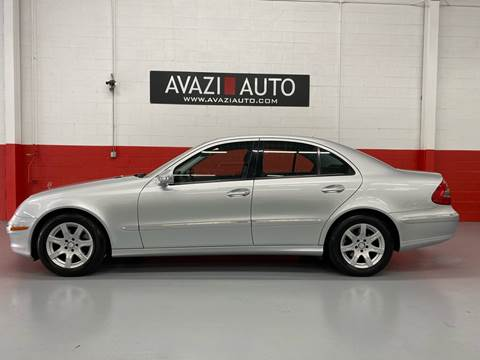 2008 Mercedes-Benz E-Class for sale at AVAZI AUTO GROUP LLC in Gaithersburg MD