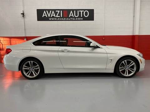 2016 BMW 4 Series for sale at AVAZI AUTO GROUP LLC in Gaithersburg MD