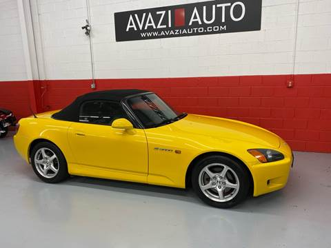 2001 Honda S2000 for sale at AVAZI AUTO GROUP LLC in Gaithersburg MD