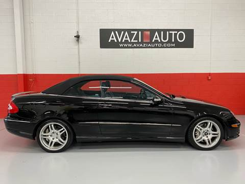 2005 Mercedes-Benz CLK for sale at AVAZI AUTO GROUP LLC in Gaithersburg MD