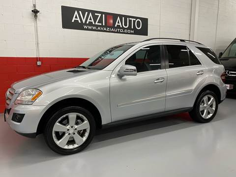 2011 Mercedes-Benz M-Class for sale at AVAZI AUTO GROUP LLC in Gaithersburg MD