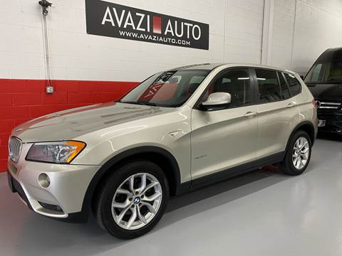 2012 BMW X3 for sale at AVAZI AUTO GROUP LLC in Gaithersburg MD