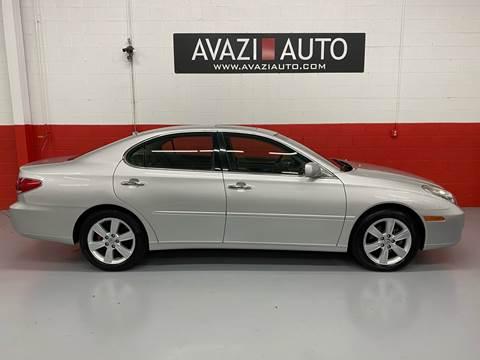 2005 Lexus ES 330 for sale at AVAZI AUTO GROUP LLC in Gaithersburg MD