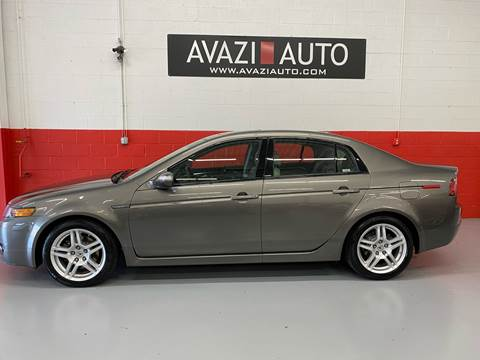 2007 Acura TL for sale at AVAZI AUTO GROUP LLC in Gaithersburg MD