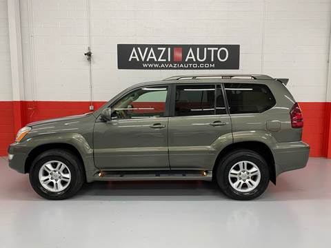 2007 Lexus GX 470 for sale at AVAZI AUTO GROUP LLC in Gaithersburg MD