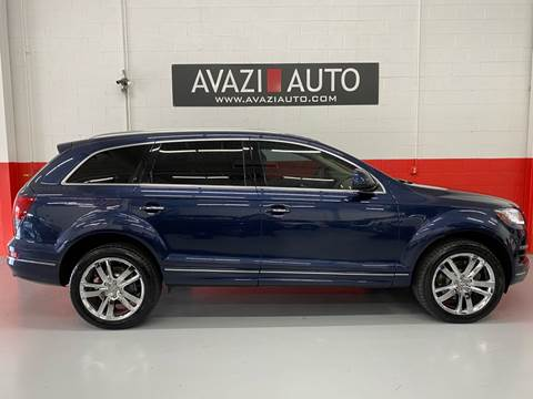 2014 Audi Q7 for sale at AVAZI AUTO GROUP LLC in Gaithersburg MD